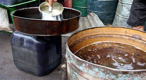 Minyak Tanah polisi gagalkan penyelundupan 14 ton minyak tanah