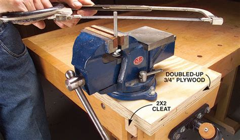 mobile machinists vise popular woodworking magazine