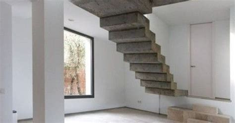 Floating Concrete Stairs And Landing wow floating concrete stairs unique but not sure i would spend a lot of time standing
