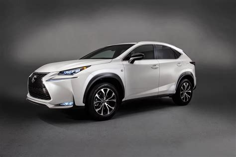lexus crossover 2014 new lexus nx puts on a bold face for luxury crossover