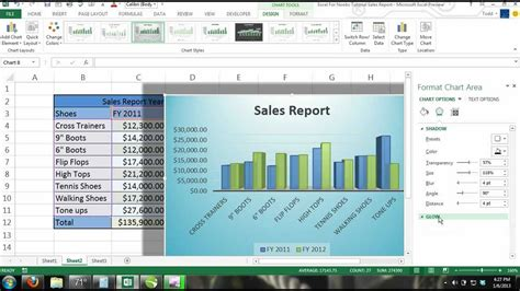 excel 2010 tutorial 13 line chart youtube excel 2013 tutorial for noobs part 13 charts multiple