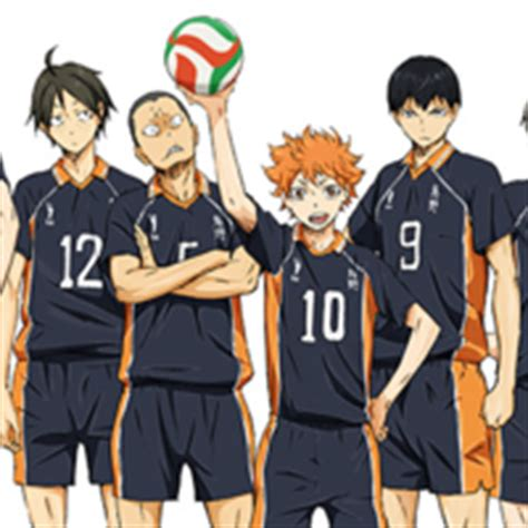 film volleyball anime crunchyroll 2nd key visual for quot haikyu quot tv anime revealed