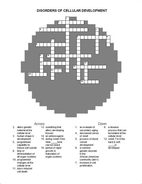 printable nursing puzzles crossword puzzles