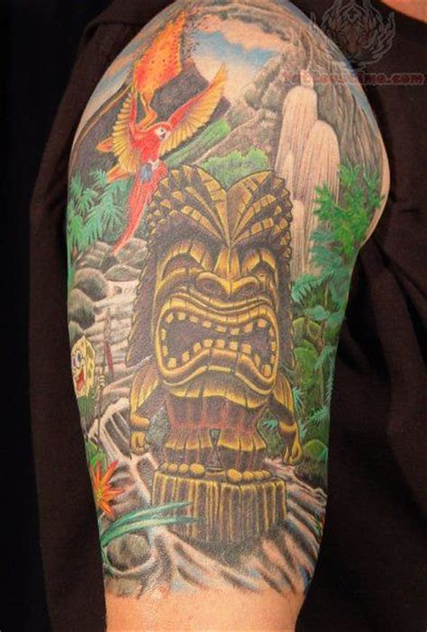 tattoo jungle jungle half sleeve tattoos sleeve