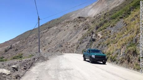 Pch Big Sur Road Closure - landslide piles on california s infrastructure woes cnn