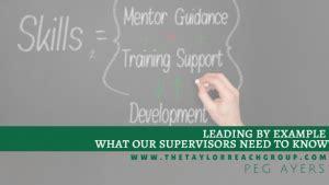 Emerson Mba Leadership Program Salary by Leading By Exle What Our Supervisors Need To