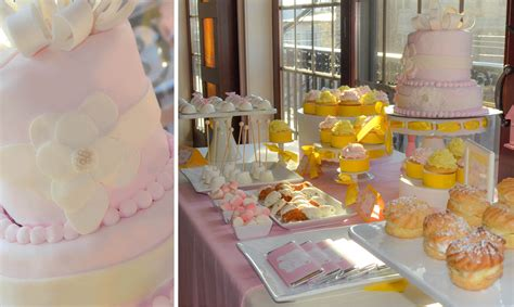 yellow and pink bathroom pink and yellow baby shower cw distinctive designs