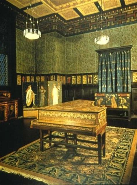 William Morris Green Dining Room by Green Dining Room William Morris And Arts And Crafts On