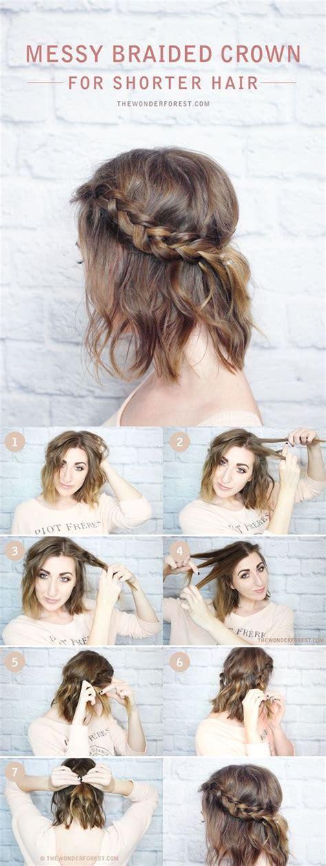 diy hairstyles thick hair best 20 braiding short hair ideas on pinterest braid