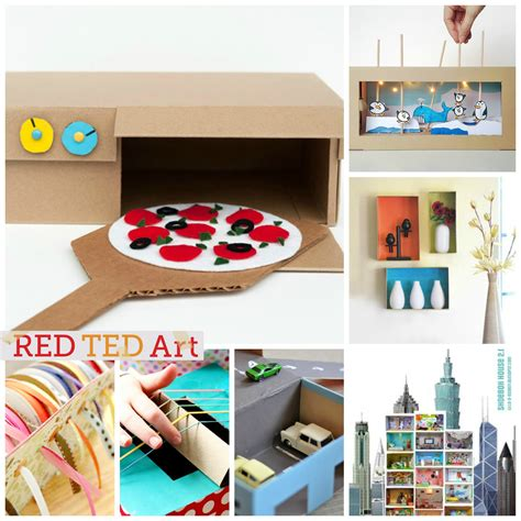 box ideas 30 wonderful shoe box craft ideas ted s