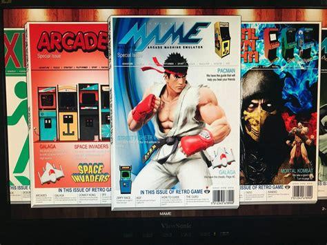 retropie theme set retro magazine theme main display release hursty
