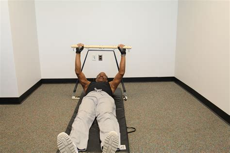 bench press with resistance bands workout 2 img 0118 delux latch bar upper lower bench press