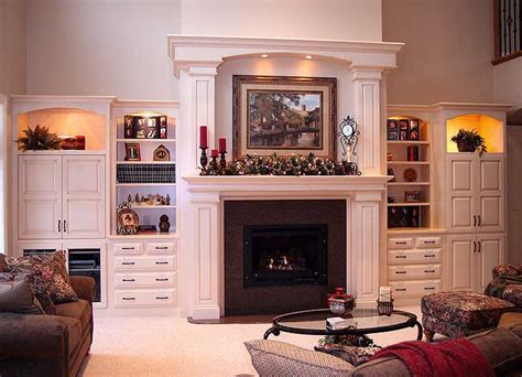 built in entertainment center with fireplace built ins by valley woodworking
