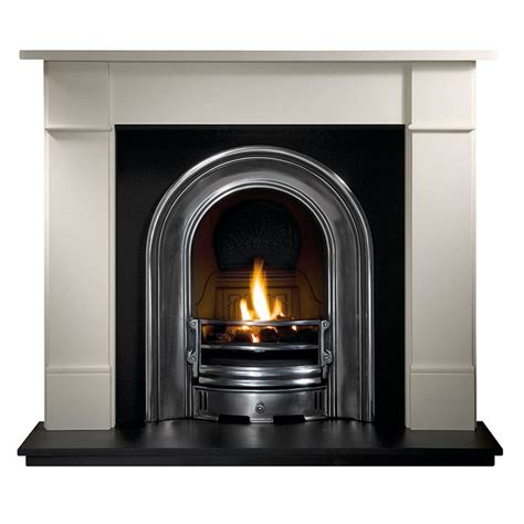 gallery brompton limestone fireplace with coronet cast
