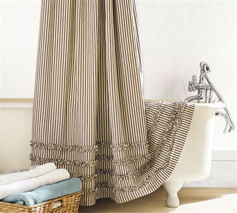 pottery barn striped curtains my quest for the perfect shower curtain help me please