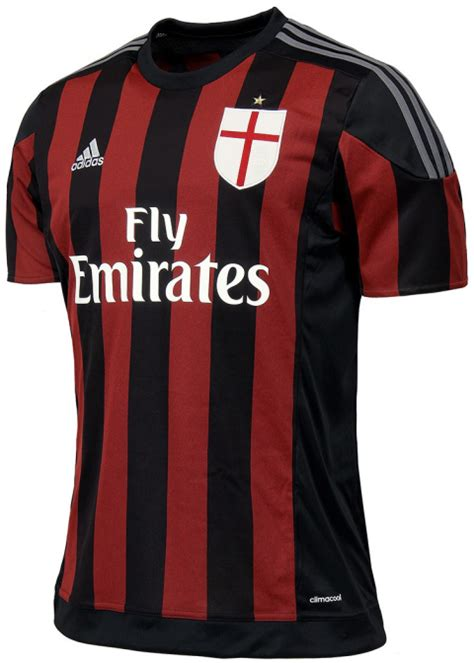 Ac Milan Logo With Adidas 0035 Casing For Oppo F1s Hardcase 2d adidas ac milan 2015 16 football jerseys