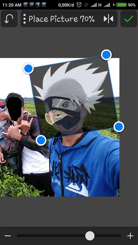 cara edit foto ganti kepala cara edit foto orang menjadi kepala naruto tanyokaamang