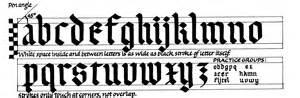 margaret shepherd calligraphy blog 84 plain gothic