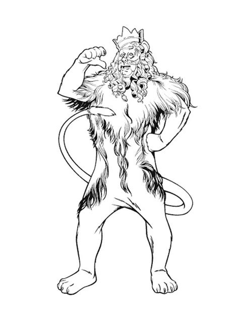 wizard of oz coloring pages lion week 3 upside down lots of animal coloring pages lion page