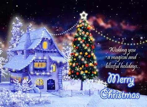 merry christmas magical winter wishes  merry christmas wishes ecards