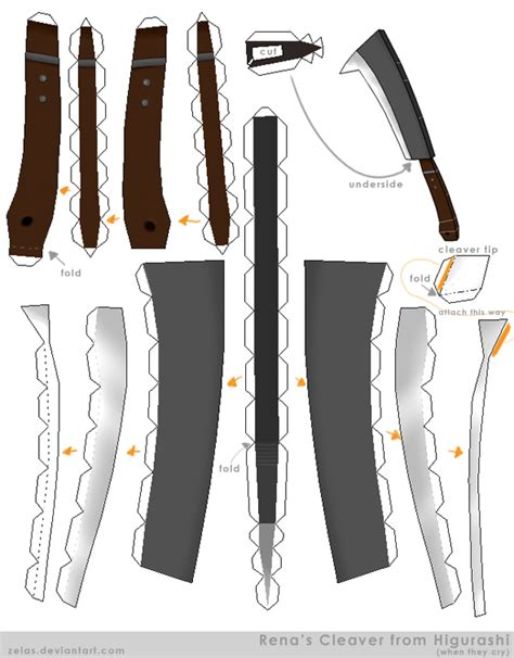 Papercraft Gun Templates - figures plushies clothes other crafts favourites by roxie