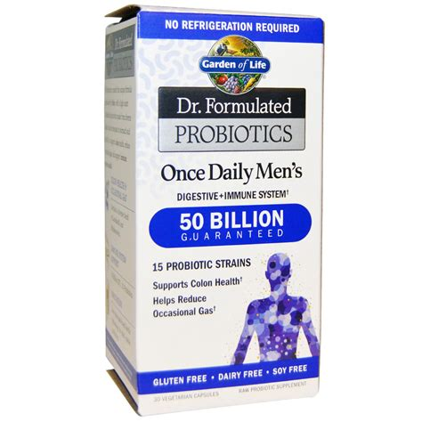 Garden Of Once Daily S Probiotic Garden Of Dr Formulated Probiotics Once Daily S