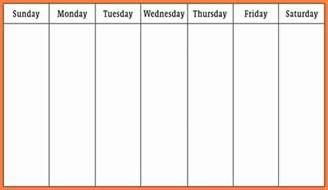 word weekly calendar template 7 weekly calendar template word marital settlements