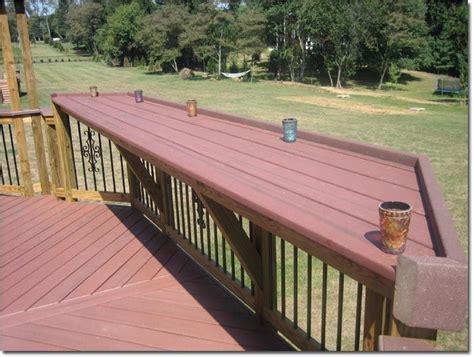deck railing bar top 25 best ideas about deck bar on pinterest patio bar outdoor bars and backyard bar