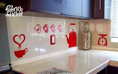 cenefas de cocina cenefa para cocina y stickers para refrigerador utensilios
