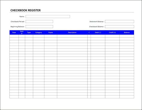 Business Record Book 2 Template