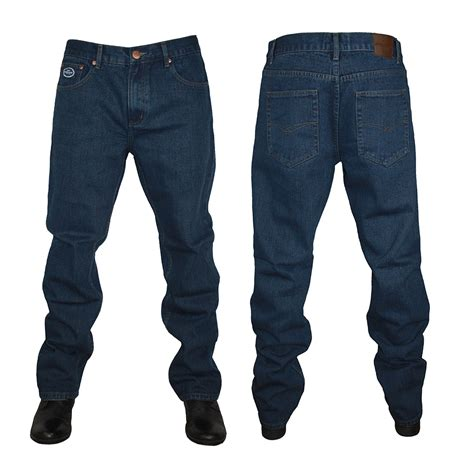 Big Sale Jeansdenim Wrangler Blue Kw Premium new mens forge by kam f101 comfort fit all waist leg big king size ebay