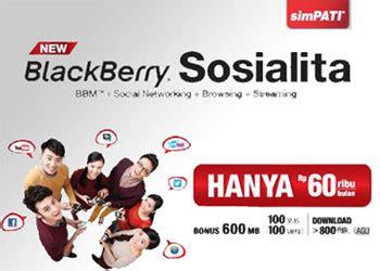Sosialita 30 Hari promo paket blackberry sosialita telkomsel info seluler dan mobile