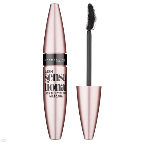 Maskara Gel Maybelline maybelline new york lash sensational maskara black 9 5ml