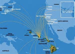 map from california to hawaii nonstop direct flights to hawaii