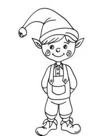 Galerry elf cartoon coloring