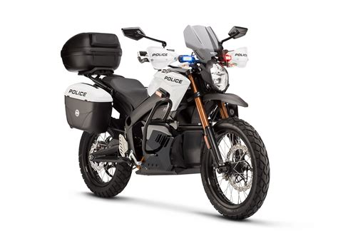 Zero Motorrad 125 by Zero Motorcycles 2013 Electric Police Models