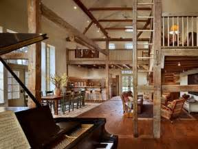 Barn House Interior Interior Barn Home Barn Home Pinterest