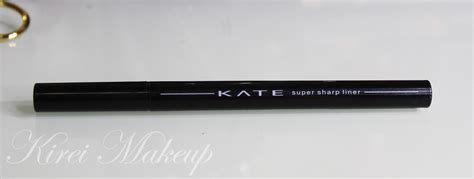 Eyeliner Kanebo product of the week kanebo kate sharp liner kirei