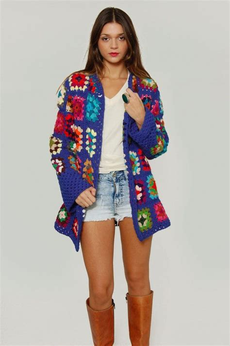 Jaket Flores Is Awesome crochet coat buscar con looks