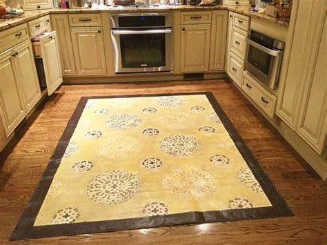 17 Best Images About Stenciled Floors On Pinterest Diy Kitchen Floor