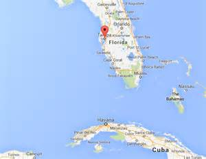 Map Of Florida And Cuba by Earthquake Off Cuba S Coast Felt In Key West Residents