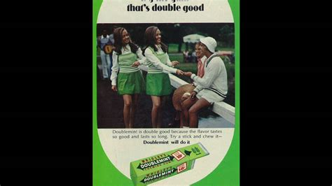doublemint gum radio commercial double  pleasure