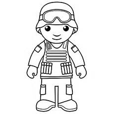 Top 10 Free Printable Soldier Coloring Pages Online sketch template