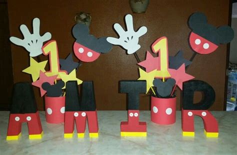 Mickey Mouse Handmade Decorations - diy mickey mouse decorations diy mickey
