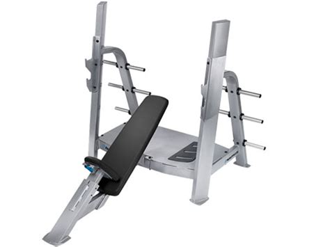 nautilus incline bench refurbished nautilus f3 olympic incline bench 1 yr warranty