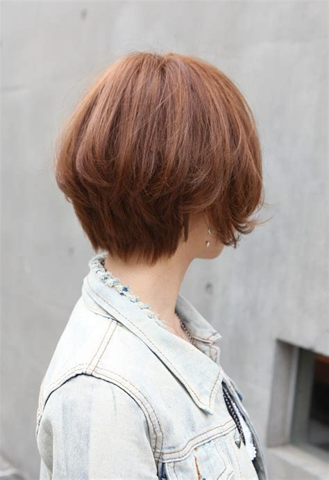 hair style front and back views of short haircuts 2013 wedge bob stacked haircut front side and back view