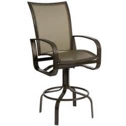 Patio Bar Chairs by Cayman Isle Flex Swivel Bar Stool By Woodard Outdoor