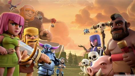 imagenes hd clash of clans clash of clans wallpapers wallpaper cave