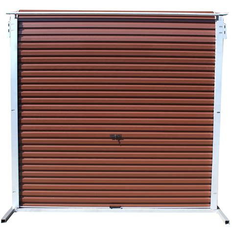 Matty Garage Wood Grain B Brown 245 Series Cashbuild Steel Garage Doors Prices