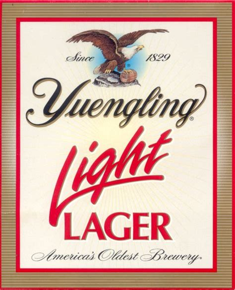 Yuengling Light Lager by Yuengling Light